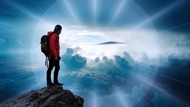 vysoko v oblacích