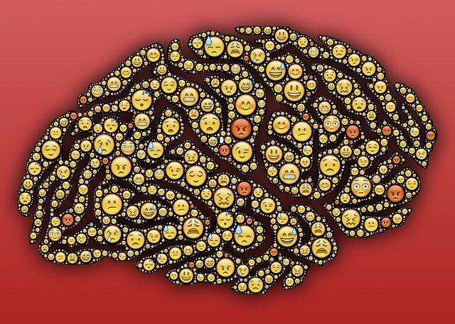 mozek plný smajlíků