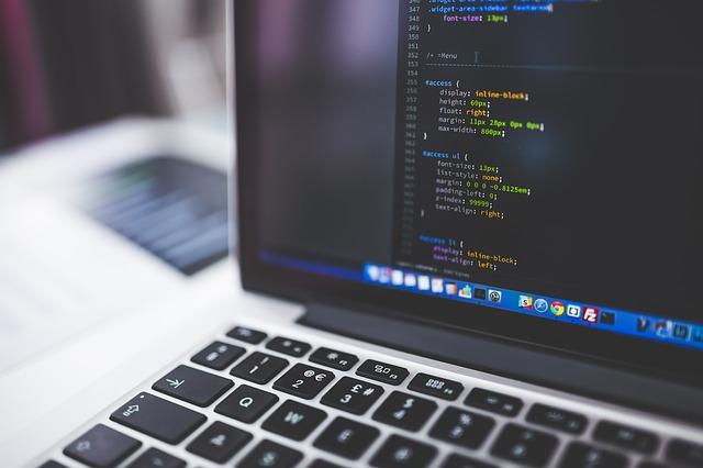 kódování programování notebook