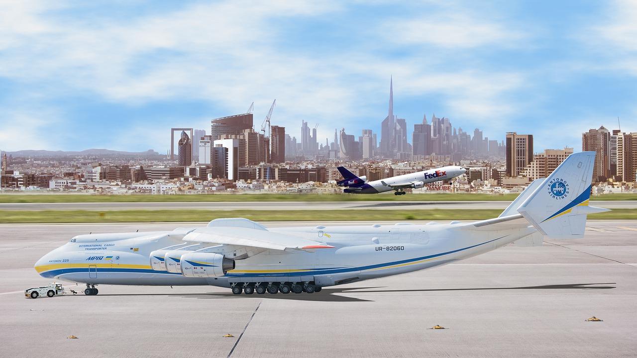 letadla na ranvejích